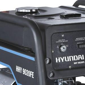 Бензиновый генератор Hyundai HHY 9050FE  - ТОПЛИВНЫЙ БАК Бак рассчитан на 25 литров...