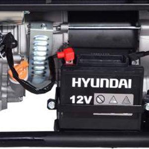 Двухтопливный генератор Hyundai HHY 7010FE ГАЗ-БЕНЗИН  - ЗАЩИТА ОТ БЕЗМАСЛЯНОЙ РАБОТЫ Поплавковый...