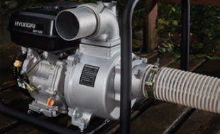 Мотопомпа для чистой воды Hyundai HY 80  - ВЫХОДНЫЕ ОТВЕРСТИЯ Выходное отверстие на...