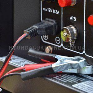 Дизельный генератор Hyundai DHY 8000LE  - РОЗЕТКА НА 12В Универсальная установка м...