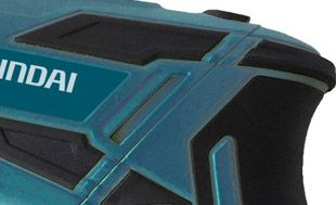Аккумуляторная отвертка Hyundai A 3600Li  - ПРОРЕЗИНЕННЫЕ ВСТАВКИ Рукоять и корпус д...